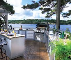 The Best Kitchen Design Kitchens Outstanding Best Outdoor Kitchen With L Shaped Kitchen