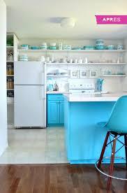 cuisine turquoise idée sympa pour refaire sa cuisine design feria