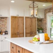 Ceiling Height Cabinets White Rustic Kitchen Photos Hgtv