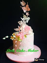958 best 2 cakes პეპელა images on pinterest cakes