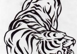 tiger tribal designs deviantart more like tribal tiger