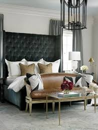 Gray And Brown Bedroom by Best 25 Black Leather Bed Ideas On Pinterest Vaulted Ceiling