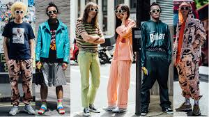 showgoers experimented with high waisted pants at paris men u0027s