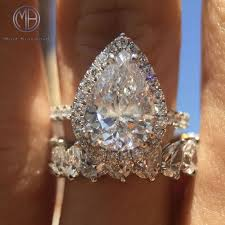 square engagement rings with band 41 best pear shaped engagement rings images on pear