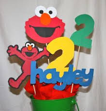 Elmo Centerpieces Ideas by Sesame Street Centerpiece Ideas Sesame Street Centerpieces Ideas