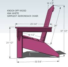 Homemade Adirondack Chair Plans I Want To Make This Diy Furniture Plan From Ana White Com Finally