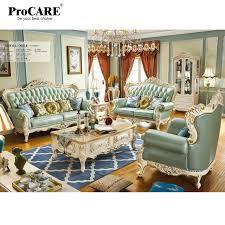Living Room Furniture Sets Leather Luxury European And American Style Living Room Furniture Quality