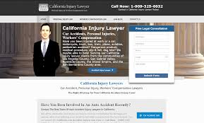california injury lawyer personal injury car accidents