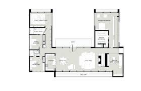 courtyard house plan u shaped house plans u shaped house plan with courtyard more t