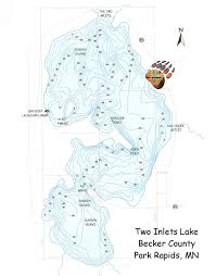 Lake Maps Mn Lake Info Bear Paw Resort