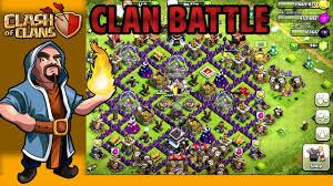 big clash of clans base clash of clans big clan battle my base youtube