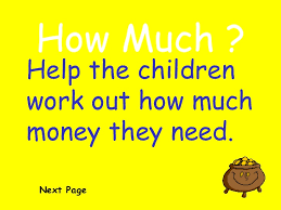 ks1 adding money qwizdom ppt