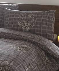 Tartan Flannelette Duvet Cover 100 Brushed Cotton Flannelette Duvet Quilt Cover Flannel Bedding