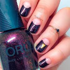 negative space nail art ideas hairstyles nail art beauty and