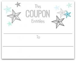 make your own christmas coupons free printables home is where