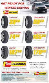 find winter tire deals at a les schwab tire center near you
