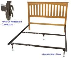 Bed Frame Hooks Buy Metal Bed Frame With Hook On Headboard Footboard Brackets And