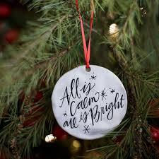 calm bright ornament 24 martha