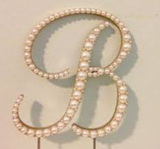 pearl monogram cake topper hey i found this really awesome etsy listing at https www etsy
