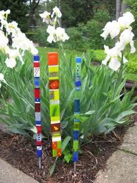 glass garden stakes ornamental garden stakes gallery ahigo net