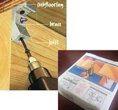 Squeaky Floor Repair Tools Accessories Squeaky Floor Repair Squeak Relief Joist