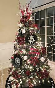 chalkboard plaid christmas tree u create