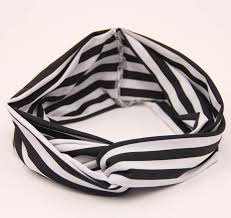 bando headbands children baby striped turbantes turban headband elastic hair