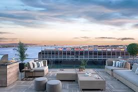 you u0027ll miss summer when you see pier 4 u0027s roof decks