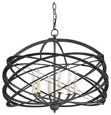 Black Iron Chandeliers Currey Company Horatio Black Iron Chandelier For Design 7