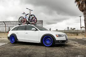 slammed audi wagon car enthusiasts dream white audi a4 wagon with bike rack u2014 carid