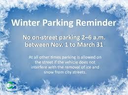winter park reminder city of albertville mn