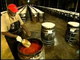 how is made how tabasco sauce is made