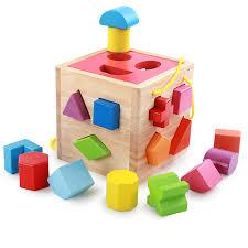 children s baby wood blocks intelligence toys
