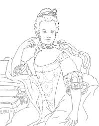 fashion model coloring pages marie antoinette coloring pages yahoo image search results