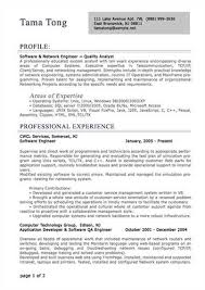 Network Engineer Resume Examples by Sample Professional Resume Examples Of Good Resumes That Get Jobs