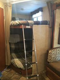 enclosed trailers and on pinterest campers with bunk beds image