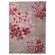Pink And White Rug Elle Floral Area Rug 5 U0027x7 U0027 Target