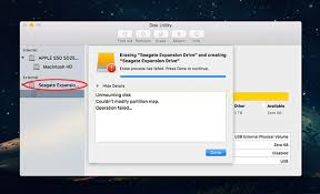 Unsupported Partition Table Hard Drive How To Format A Seagate Hdd To Os X Extended Journal