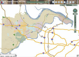 Mi County Map St Charles County Map Service Colterrific Maps A Portfolio
