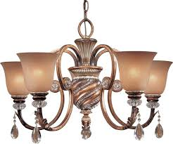 Minka Lighting Chandeliers Minka Lavery 174 206 Aston Court 5lt Bronze Chandelier Lighting