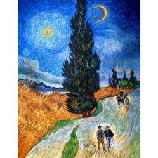 online get cheap cypress van gogh aliexpress com alibaba group famous artist vincent van gogh oil painting reproduction cypress against a starry sky home decor hand