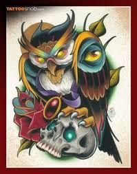 setwidth487 sugar skull owl design flickr photo bird