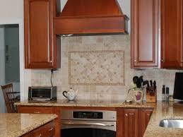 stainless steel kitchen backsplash tiles kitchen backsplash tile cherry cabinets cherry wood kitchen