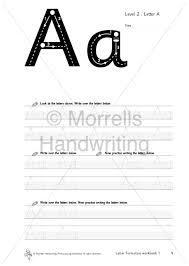 morrells letter formation 1 alphabet morrells handwriting