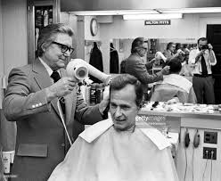 cia director george bush sr gets white house haircut pictures