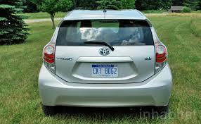 Toyota Prius Interior Dimensions Toyota Prius C Front Inhabitat U2013 Green Design Innovation