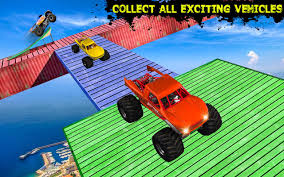 monster truck race track toy monster truck simulator impossible tracks android apps on