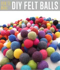 how to make felt balls diy projects craft ideas how to s for