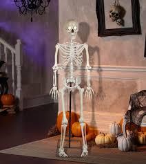 animatronic halloween props bony tony animatronic talking skeleton with microphone the