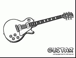 electric guitar coloring page grand guitar coloring guitars free